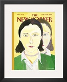 The New Yorker Cover - June 14, 2004 Framed Giclee Print by Maira Kalman