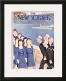 The New Yorker Cover - October 11, 1941 Framed Giclee Print by William Cotton