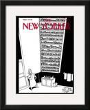 The New Yorker Cover - November 28, 2005 Framed Giclee Print by Bruce Eric Kaplan