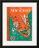 The New Yorker Cover - February 13, 1926 Framed Giclee Print by Ilonka Karasz