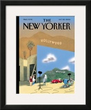 The New Yorker Cover - October 20, 2003 Framed Giclee Print by Ian Falconer