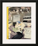 The New Yorker Cover - March 10, 1934 Framed Giclee Print by Abner Dean