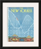 The New Yorker Cover - September 7, 1963 Framed Giclee Print by Robert Kraus
