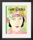 The New Yorker Cover - April 8, 1996 Framed Giclee Print by Maira Kalman