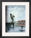 The New Yorker Cover - September 12, 2005 Framed Giclee Print by Ana Juan