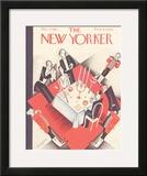 The New Yorker Cover - December 4, 1926 Framed Giclee Print by Constantin Alajalov