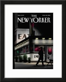 The New Yorker Cover - March 22, 2010 Framed Giclee Print by Jorge Colombo