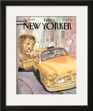 The New Yorker Cover - March 13, 1995 Framed Giclee Print by Barry Blitt