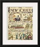 The New Yorker Cover - July 15, 1944 Framed Giclee Print by Rea Irvin