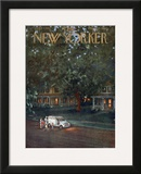 The New Yorker Cover - August 24, 1957 Framed Giclee Print by Edna Eicke