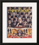The New Yorker Cover - January 25, 1993 Framed Giclee Print by Edward Sorel