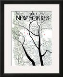 The New Yorker Cover - April 3, 1971 Framed Giclee Print by Raymond Davidson