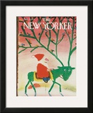 The New Yorker Cover - December 25, 1978 Framed Giclee Print by Andre Francois
