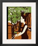 The New Yorker Cover - August 8, 2011 Framed Giclee Print by Frank Viva