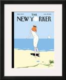 The New Yorker Cover - August 29, 2011 Framed Giclee Print by Istvan Banyai