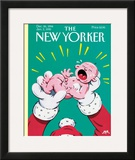 The New Yorker Cover - December 26, 1994 Framed Giclee Print by Bob Zoell (HA)