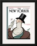 The New Yorker Cover - February 19, 2007 Framed Giclee Print by Rea Irvin