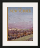 The New Yorker Cover - October 21, 1967 Framed Giclee Print by Albert Hubbell