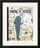 The New Yorker Cover - November 13, 2006 Framed Giclee Print by Barry Blitt