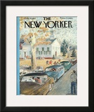 The New Yorker Cover - October 26, 1957 Framed Giclee Print by Garrett Price