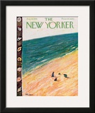 The New Yorker Cover - August 18, 1956 Framed Giclee Print by Abe Birnbaum