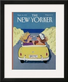The New Yorker Cover - September 18, 1989 Framed Giclee Print by Barbara Westman