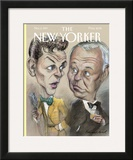 The New Yorker Cover - November 3, 1997 Framed Giclee Print by Edward Sorel