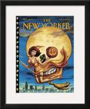 New Yorker Cover - November 06, 2000 Framed Giclee Print by Owen Smith