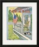 The New Yorker Cover - July 6, 1968 Framed Giclee Print by William Steig