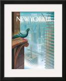 The New Yorker Cover - January 15, 2007 Framed Giclee Print by Eric Drooker