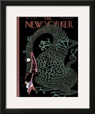 The New Yorker Cover - March 12, 1932 Framed Giclee Print by Rea Irvin
