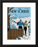 The New Yorker Cover - January 19, 2004 Framed Giclee Print by Jean Claude Floc&#39;h
