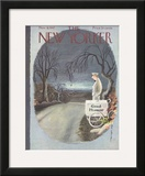 The New Yorker Cover - November 8, 1947 Framed Giclee Print by Rea Irvin
