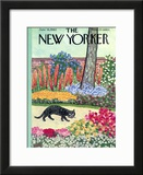 The New Yorker Cover - June 18, 1960 Framed Giclee Print by William Steig