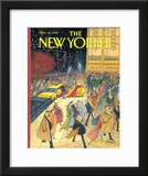The New Yorker Cover - November 16, 1992 Framed Giclee Print by Arnold Roth