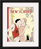 The New Yorker Cover - May 6, 2002 Framed Giclee Print by Istvan Banyai