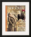 The New Yorker Cover - December 10, 1932 Framed Giclee Print by William Steig