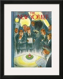 The New Yorker Cover - January 29, 1955 Framed Giclee Print by Leonard Dove