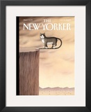 The New Yorker Cover - October 5, 2009 Framed Giclee Print by Gürbüz Dogan Eksioglu