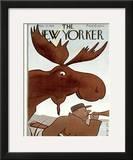 The New Yorker Cover - November 25, 1939 Framed Giclee Print by Rea Irvin