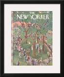 The New Yorker Cover - May 23, 1942 Framed Giclee Print by Ilonka Karasz