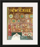The New Yorker Cover - March 11, 1961 Framed Giclee Print by Anatol Kovarsky
