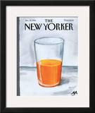 The New Yorker Cover - January 30, 1995 Framed Giclee Print by Bob Zoell (HA)