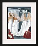 The New Yorker Cover - March 15, 2004 Framed Giclee Print by Mark Ulriksen