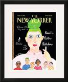 The New Yorker Cover - September 9, 1996 Framed Giclee Print by Maira Kalman