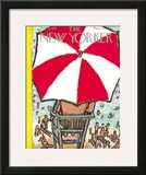 The New Yorker Cover - September 5, 1953 Framed Giclee Print by Abe Birnbaum