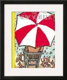 The New Yorker Cover - September 5, 1953 Framed Giclee Print by Abe Birnbaum