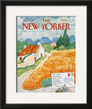 The New Yorker Cover - July 31, 1989 Framed Giclee Print by Kenneth Mahood