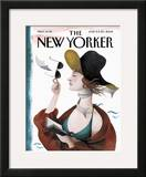 The New Yorker Cover - June 13, 2005 Framed Giclee Print by Ana Juan