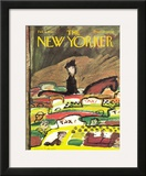 The New Yorker Cover - February 6, 1965 Framed Giclee Print by Andre Francois